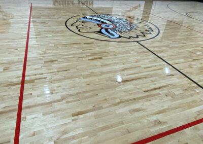 Avant Public Schools Gym Floor